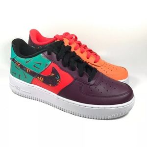NEW NIKE AIR FORCE 1 LV8 GS 'WHAT THE 90s'